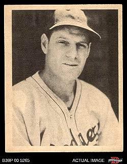 1939 Play Ball # 6 Leo Durocher Brooklyn Dodgers (Baseball Card) Dean's Cards 2 - GOOD Dodgers