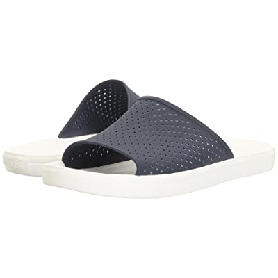 Crocs CitiLane Roka Slide (Navy/White) Slide Shoes