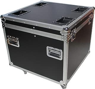 ProX XS-UTL9W Utility Pro Audio Gear Flight Case w/Casters 20x20x20