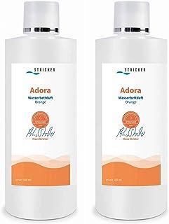 2x Lits à eau Parfum orange