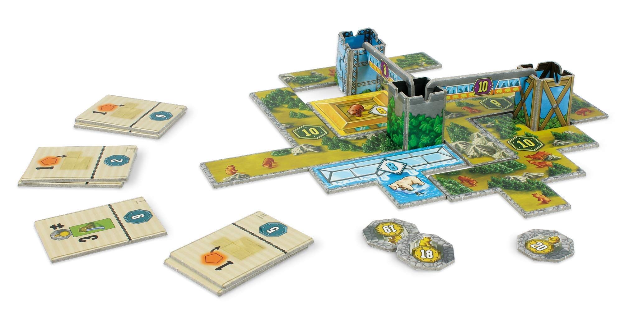 Lookout Games 22160108 Bärenpark - Juego de Mesa [Importado de Alemania]: Amazon.es: Juguetes y juegos