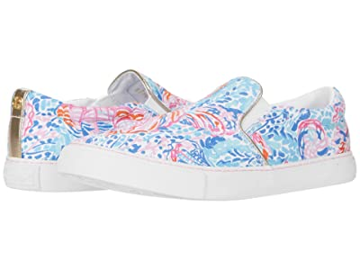 Lilly Pulitzer Julie Sneaker (Multi Treasure Trove Accessories Small) Women