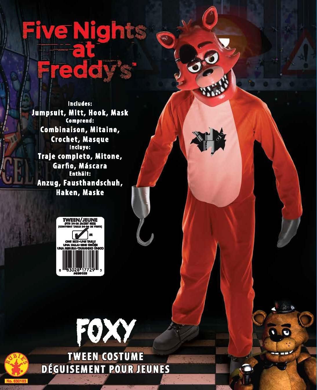 Five Nights at Freddy's Foxy Tween Costume