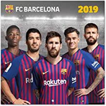 Close Up FC Barcelona Calendario 2019 – Calendario Oficial 2019, 16 Meses, Texto Original en inglés Acabado.