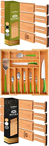 wholesale Drawer Dividers 22In, Expandable Silverware Drawer Organizer and outlet online sale 2021 Drawer Dividers, 17IN outlet online sale