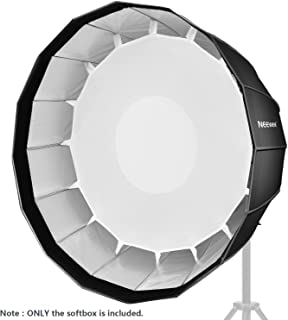 Neewer 48 inches/120 Centimeters Deep Hexadecagon Softbox - Quick Collapsible with Bowens Speedring and Diffuser for Speedlite Studio Flash Monolight,Portrait and Product Photography