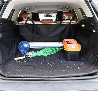 DOBEST Dog Vehicle Cargo Liner Cover Pet Seat Cover Bed Floor Mat Nonslip Waterproof Universal for Car SUV Truck Vans Black