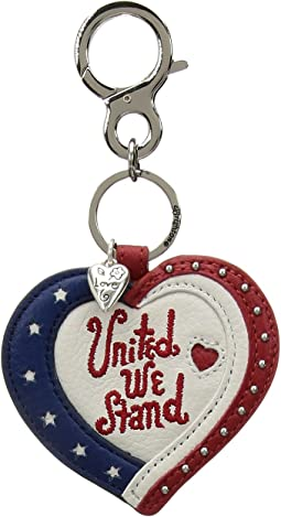 Patriotic Handbag Key Fob