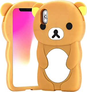 FunTeens Relax Bear Case for iPhone Xs Max 6.5