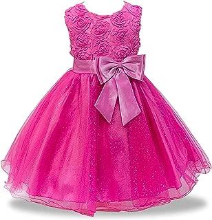 Surprise S Lace Sequins Formal Evening Wedding Gown Tutu Princess Dress Flower Girls Children Kids Party Clothes