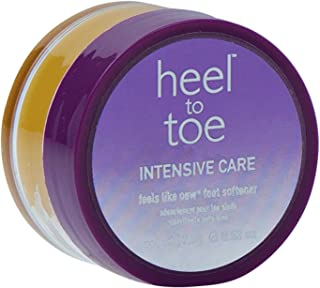 Heel to Toe Feels Like New Foot Softener Pot .62oz.