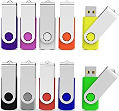 Aiibe 8GB USB Flash Drive Colorful 8G Memory Stick...