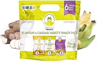 Sponsored Ad - Plantain Chips - Cassava Chips Individual Bags - Vegan Snacks - Gluten Free Snacks - Banana Chips - Veggie ...