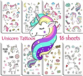 Best unicorn tattoos for kids Reviews