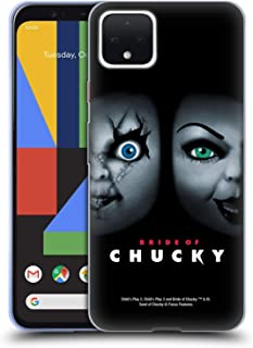 Official Bride of Chucky Poster Key Art Soft Gel Case Compatible for Google Pixel 4