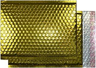 Purely Packaging C4+ 324x230 Peel and Seal Padded Envelopes - Metallic Gold (Pack of 100)
