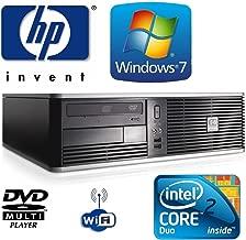 Online Exclusive Sale !!! HP dc7800 SFF Desktop Computer PC - Intel Core 2 Duo 2.33GHz Processor -160GB HDD - 4GB RAM - DVD ROM - Windows 7 Professional 64 Bit - USB Wi-Fi Adapter