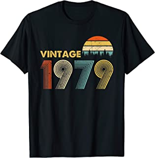 Made in 1979 T-Shirt Vintage 40th Birthday 40 years old Gift