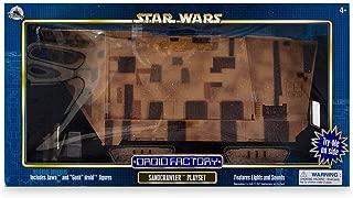 Disney Parks Star Wars Droid Factory Sandcrawler Playset, Gonk Jawa Figures