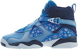Nike Air Jordan 8 Retro Big Kid's Shoe Cobalt Blaze/Blue/Void/White 305368-400 (7 M US)