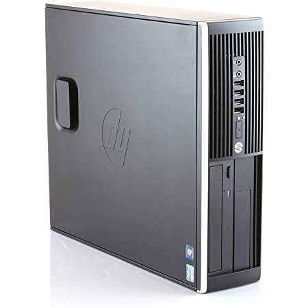 HP Elite 8300 - Ordenador de sobremesa (Intel Core i7-3770, 32GB de RAM, Disco SSD 240GB + 500GB HDD, Lector DVD,Grafica 2GB HDMI, WiFi, Windows 10 Pro ES 64) - Negro (Reacondicionado)