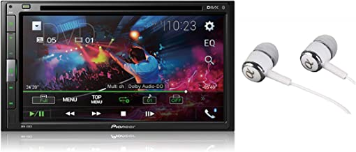 "Pioneer 6.8"" Double DIN Touchscreen Display, Apple iPhone and Android Music Support,.."