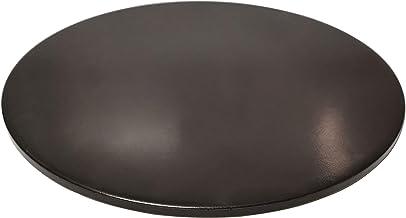 "Wondjiont 13"" Black Ceramic Pizza Stone, Baking Stones for Oven, Grill & BBQ"