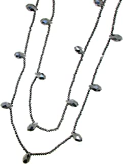 Laura Loison - Collana lunga per donna color Silver