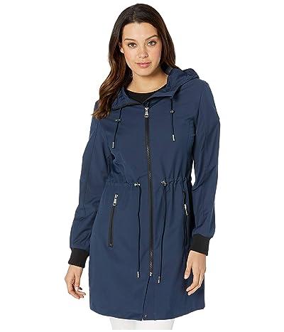 Calvin Klein Fashion Anorak Raincoat (Navy) Women