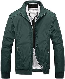 Sunshinejourney Men's Jackets 2018 New Casual Jacket Spring Regular Slim Jacket Coat MWJ682