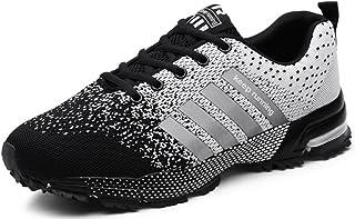 Femmes Hommes Sport Chaussures de Course Air Coussin Semelle Respirant Confort Athlétique Sneakers Baskets
