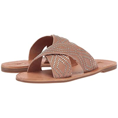 Frye Ally Deco Stud Crisscross (Dusty Rose) Women