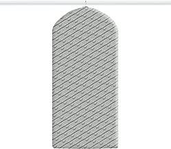 82x40x13 cm Transparentes Polietileno Rayen 6 Bolsas Jersey antipolilla
