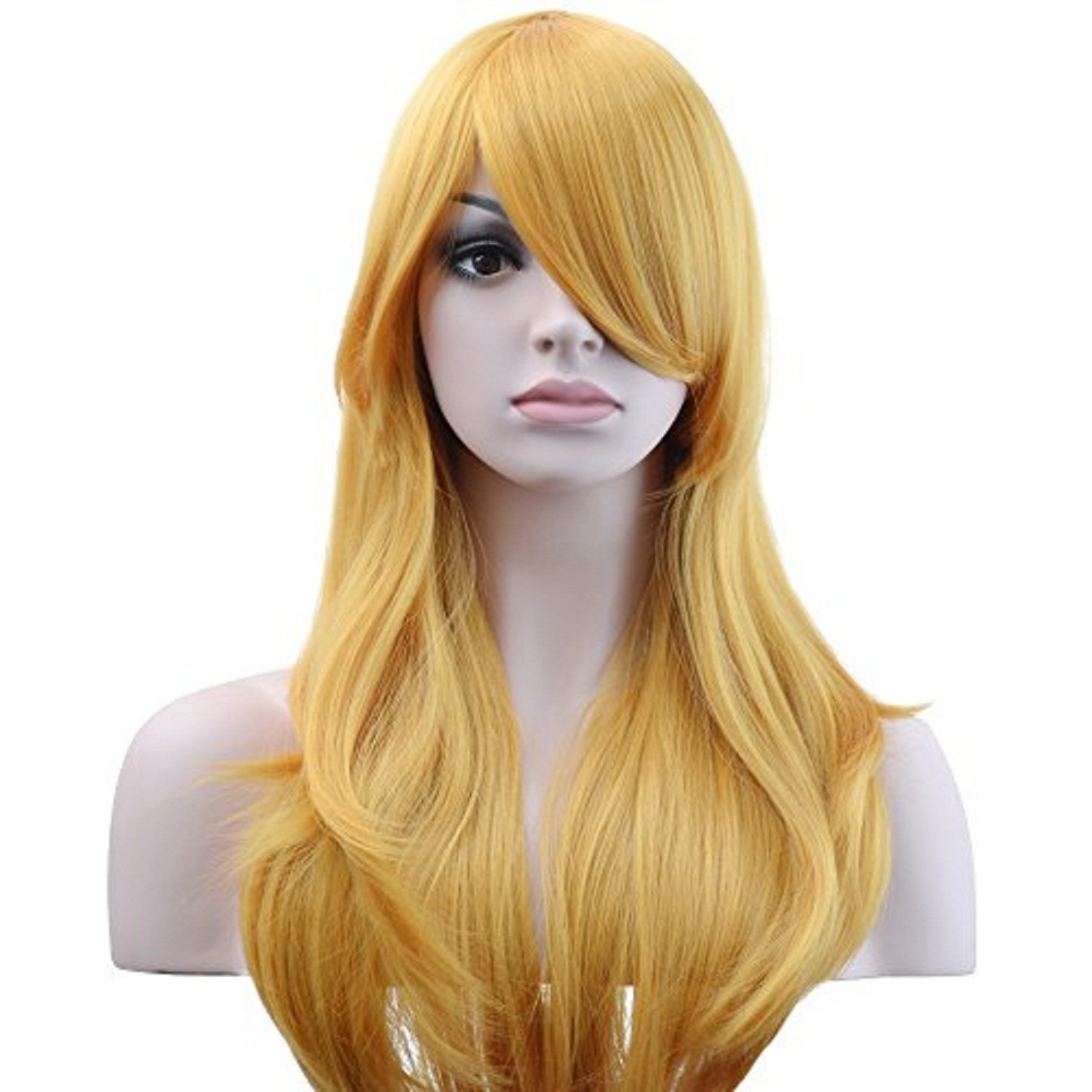 Our shop most popular Max 81% OFF YOPO 28'' Blonde Wig for Women Costume Wa Long Party Cosplay Big