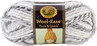 Lion Brand Yarn 640-505 Wool-Ease Thick & Quick Yarn, One Size, Marble
