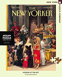New York Puzzle Company - New Yorker Monday at the Met - 1000 Piece Jigsaw Puzzle