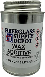polyester resin wax additive