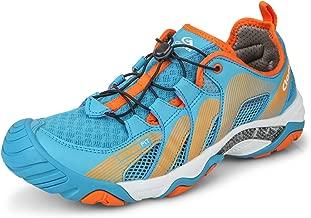 Clorts Men's Water Shoe Lightweight Quick Drying Kayaking Beach Hiking Trekking Walking Sneaker