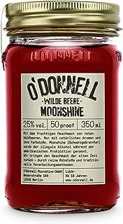 "O""Donnell Moonshine ""Wilde Beere"" Likör 350 ml I Made in Germany I Natürliche Zutaten I 25% Vol. Alkohol"