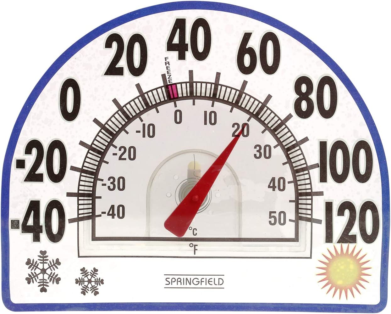 Springfield Wholesale Static Thermometer Cling Super intense SALE