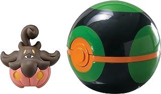 TOMY Pokémon Clip & Carry Poké Ball Pumpkaboo + Dusk Ball