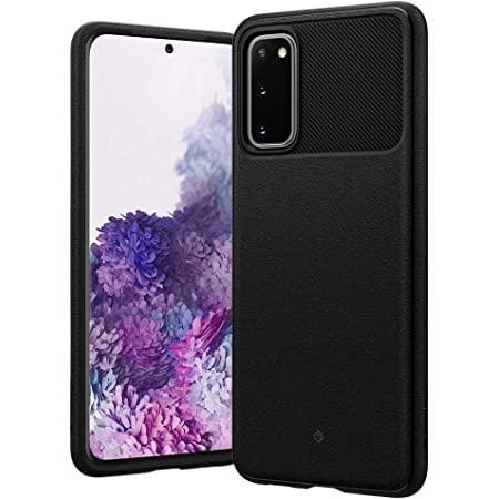 Caseology Vault for Samsung Galaxy S20 Case (2020) - Textured Grip - Matte Black