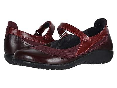 Naot Kirei (Violet Nubuck/Bordeaux Leather/Rumba Leather) Women