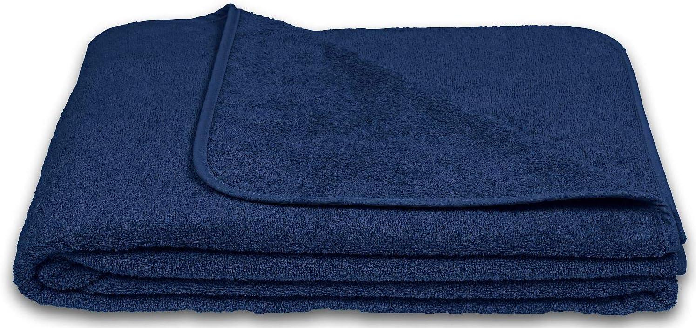 Berry KiGATEX Frotteedecke Sommerdecke softig weich 100/% Baumwolle 150x200 cm /Öko-Tex Zertifiziert