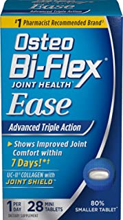 Ease Advanced Triple Action w/ Vitamin D by Osteo Bi-Flex, Joint Health with Bone & Immune Support, 28 Mini Tablets