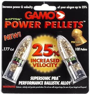 Gamo Air Gun Pellets PBA Raptor .177 Cal. Qty of 100