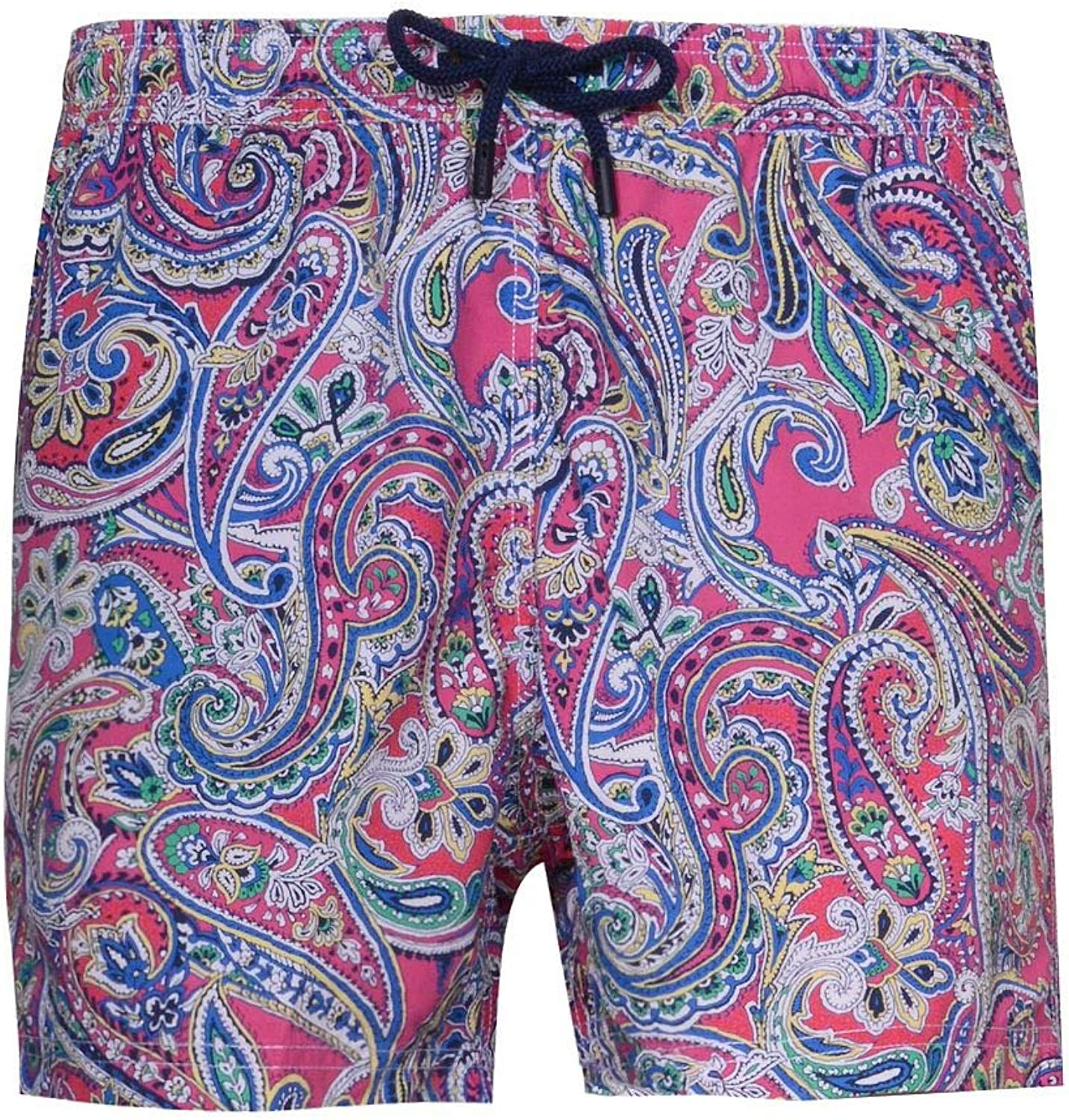 Etro Men's 1B1004766651 Multicolor Polyester Trunks