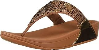 FitFlop Women's LULU Leopard-Crystal Sandal