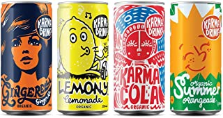 Karma Cola Variety Selection Mixed Flavours (24 Pack Cans)