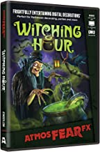 AtmosFX Witching Hour Digital Decorations DVD for Halloween Holiday Projection Decorating